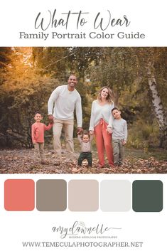 Family Color Schemes, Picture Color Schemes, Coral Color Schemes, Family Photography Colors, Family Picture Colors, Family Picture Outfits, Spring Family Pictures, Big Family Photos, Family Photos What To Wear