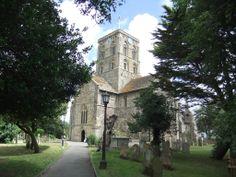 St Mary de Haura Church, Shoreham by Sea,,Sussex.