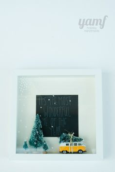 you are my fave: holiday shadowbox @ Heart-2-HomeHeart-2-Home