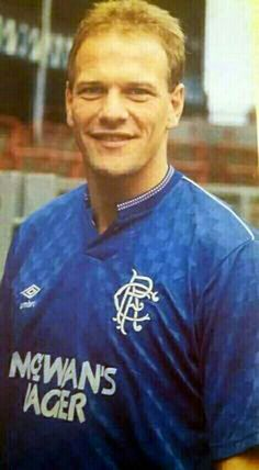 Andy Gray of Rangers in 1988.
