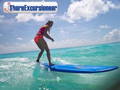 Cruise Excursions, Learn To Surf, Cozumel, Good Day, Surfing, Stress, Waves, Learning, Big