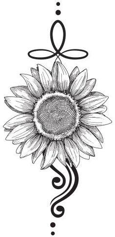 Sunflower Tattoo Sleeve, Sunflower Tattoo Shoulder, Sunflower Tattoos, Sunflower Tattoo Design, Colorful Sunflower Tattoo, Sunflower Mandala Tattoo, Sunflower Drawing, Hand Tattoos, Body Art Tattoos