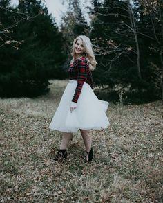 red plaid top, Space 46 tulle skirt, flowy skirt, flowy maxi skirt, bridal separates, long skirt, petite fashion blog, petite fashion blogger, Charleston fashion blogger, Los Angeles fashion blogger, maxi skirt, white tulle skirt, wedding skirt, bridesmaid skirt, tutu skirt, ballerina skirt