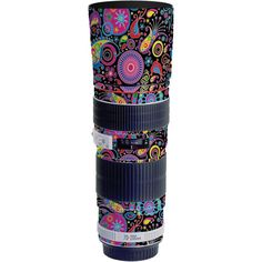 LensSkins Lens Skin for the Canon Non IS Lens (Carnival Flair) Barrel, Canon, Carnival, Lens, How To Apply, It Is Finished, Cameras, Pictures, Barrel Roll