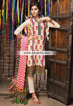 WL9156 Nice Embroidered Suits Khaadi Lawn Eid Collection 2015 UK USA Canada Australia Saudi Arabia Bahrain Kuwait Norway Sweden New Zealand Austria Switzerland Germany Denmark France Ireland Mauritius and Netherlands