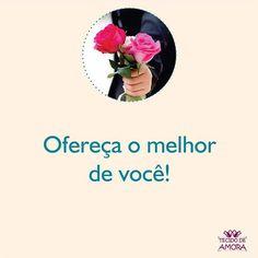 Bom dia!! Que a gente consiga ser o melhor de nós mesmos sempre!  #amor #bomdia #bomfimdesemana #melhor