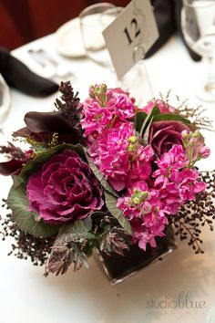 Beautiful pinks and greens