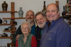 Family celebrates 50 years in the same workshop! Eeles Family Pottery in Mosterton, near BEAMINSTER: U.K.