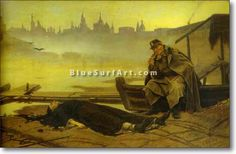 Found Drowned. - £124.99 : Canvas Art, Oil Painting Reproduction, Art Commission, Pop Art, Canvas Painting