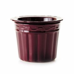 """BERRY COOL DIP  Berry stoneware cool dip container keeps dips perfectly chilled for serving. 6½ x 5""""  Item: 93347  $25.00"""