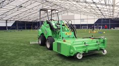 Avant Techno attachment designed for all types of artificial turf