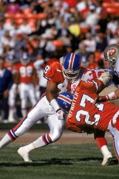 Dennis Smith and Steve Atwater, the original Legion of Boom.