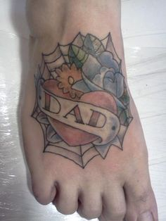 Dad on foot !