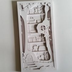 Create your own layered papercut shadow box with this Personal Use template. Tutorial Included.