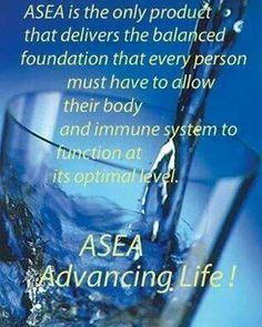 Message me to try ASEA for yourself and see how it can help your body get back in balance.vil du have 25 % rabat på verdens bedste produkter??? Køb dem her:http://husetmilepaelen.teamasea.com Følg også ASEA -Silkeborg på Facebook