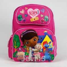 Jelfis.com - Doc McStuffins Large Backpack - I Care Heart 16' Girls School Book Bag Dottie, $17.99 (http://www.jelfis.com/doc-mcstuffins-large-backpack-i-care-heart-16-girls-school-book-bag-dottie/)