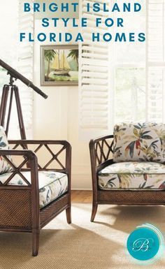 This sunny, cheerful decor transforms your home into a tropical oasis. Contact Baer's Furniture to get this enduringly popular look. Florida Home, Tropical Paradise, Interior Design Tips, Turning, Texas, Bright, Warm, Island, Eye