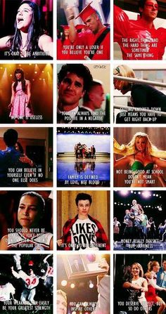 Great lessons learned from Glee!!!