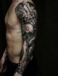Image result for japanese tribal sleeve tattoos