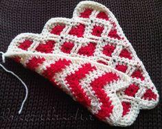 Crochet Reversible Zigzag - Charts