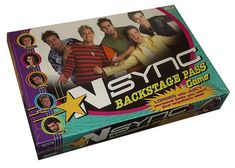 """""""'N Sync Backstage Pass"""" 