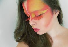 Makeup inspired by Cirque de Soleil