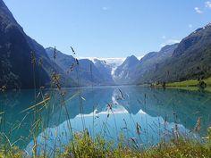 Briksdal Glacier, Norway ('99)