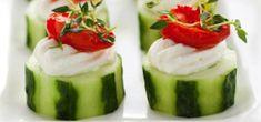 Cucumber Tomato Bites Appetizer Recipe