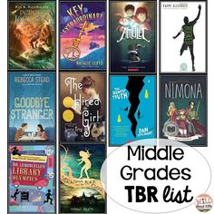 Blog Post full of Middle School Book Recommendations! #wildaboutfifthgrade