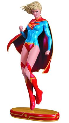 DC Comics Cover Girls Supergirl Statue