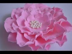 Como Hacer Flores en Capas y Efecto Gotas de Agua - YouTube