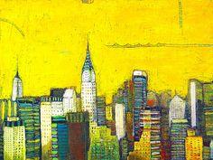 neew york city the golden city , by bibi ayat