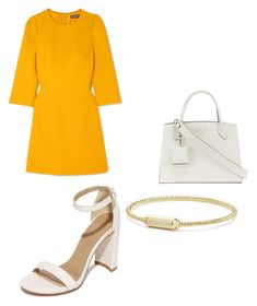 Designer Clothes, Shoes & Bags for Women David Yurman, Stuart Weitzman, Prada, Shoe Bag, Yellow, Polyvore, Stuff To Buy, Shopping, Collection