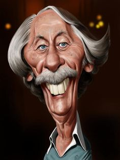 I did not have time to caricature him during his lifetime but I could not let this huge French actor leave without a homage. Funny Caricatures, Celebrity Caricatures, Portraits, Portrait Art, Jean Rochefort, Dark Gothic Art, Munier, Animated Cartoon Characters, Caricature Drawing