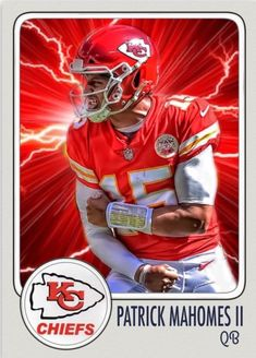 Check out all our Kansas City Chiefs merchandise! Kansas City Chiefs Football, Nfl Football Players, Nfl Kansas City Chiefs, Football Cards, Pittsburgh Steelers, Dallas Cowboys, Baseball Cards, Chiefs Wallpaper, Cincinnati Reds