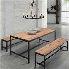 Buy Mansell Dining Table Distressed Natural online with free shipping from thegardengates.com