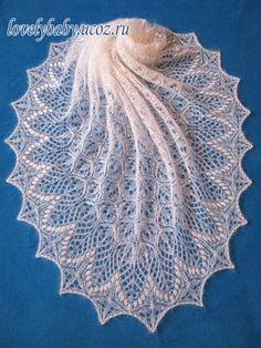New knitting patterns scarf lace crochet shawl Ideas Lace Knitting Patterns, Lace Patterns, Knitting Stitches, Crochet Poncho, Knitted Shawls, Tricot D'art, Angora, Lace Scarf, Crochet Shawl