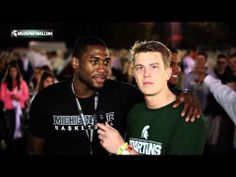 Michigan State Basketball Izzone Campout 2013