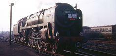 70020 Mercury: Off HCRS special train at York. Diesel Locomotive, Steam Locomotive, Train Room, Steam Railway, British Rail, Steam Engine, Transportation, Shed, Old Things