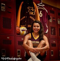 Senior picture ideas letterman jersey volleyball and basketball #vividphotographs follow me on Instagram bizz1212