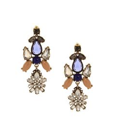 Look what I found on #zulily! Burnished Gold & Blue Angelic Drop Earrings by Olivia Welles Jewelry #zulilyfinds