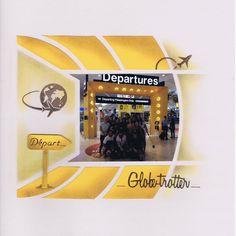 Page de scrap - Departures