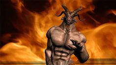 The Devil Dancing in Hell animated gif. #devil #dancing #cartoon #hell #animated #gif