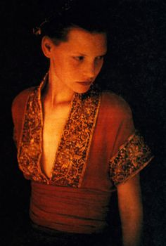 Romeo Gigli, Details magazine, March 1989. Photograph by Paolo Roversi.