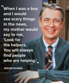 Great Quotes, Quotes To Live By, Life Quotes, Inspirational Quotes, Life Sayings, Mr Rogers Quote, Dyi, Seneca The Younger, Fred Rogers