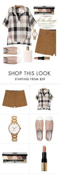 """Untitled #211"" by fatimah-hameed ❤ liked on Polyvore featuring moda, Emilio Pucci, Kate Spade, FitFlop, Bobbi Brown Cosmetics ve Valentino"