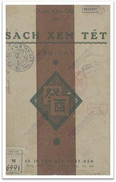 Sách Xem Tết Tân Dân (NXB Tân Dân 1933) - Nguyễn Tiến Lăng, 68 Trang
