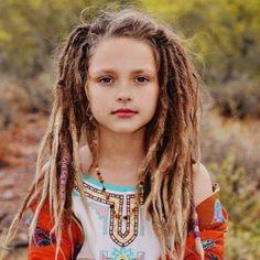 hair girl happy beautiful boho kids dreads dreadlocks boho chic