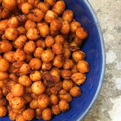 Roasted chickpeas with sweet paprika