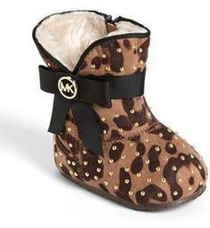 Michael Kors 'Grace' Baby Boot